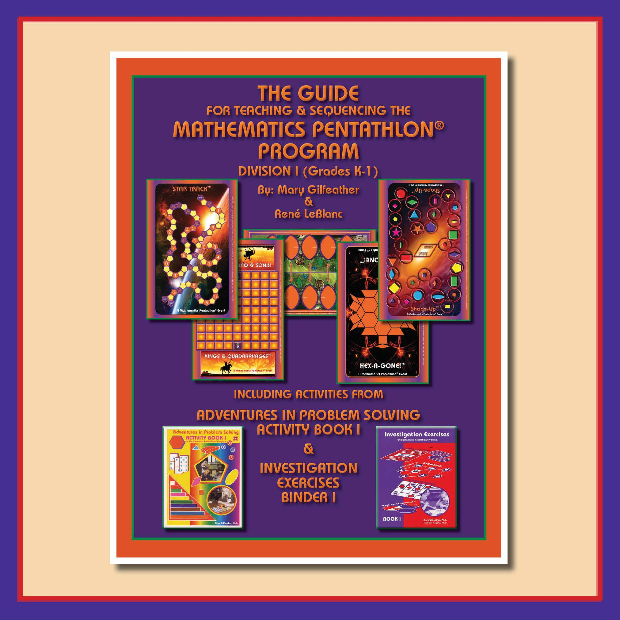 Pentathlon Institute Division I Grades K 1 The Guide For Teaching And Sequencing The
