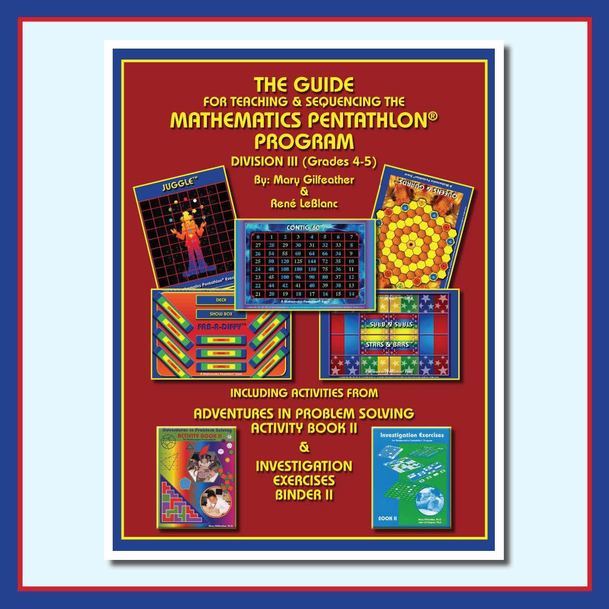 Pentathlon Institute Division Iii Grades 4 5 The Guide