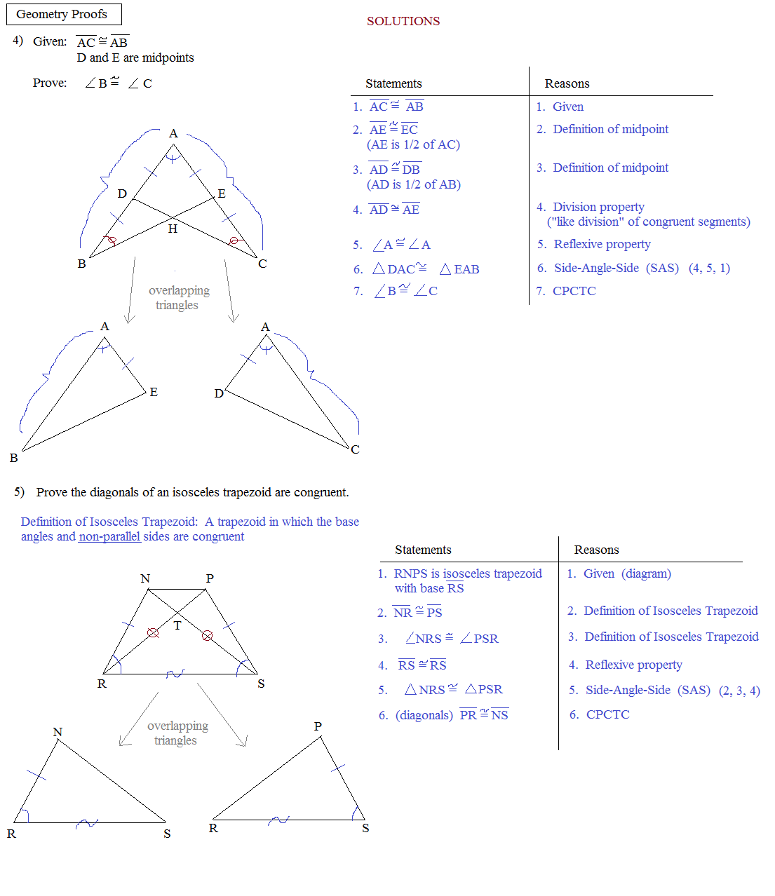Special Right Triangles Worksheet 30 60 90 Answers