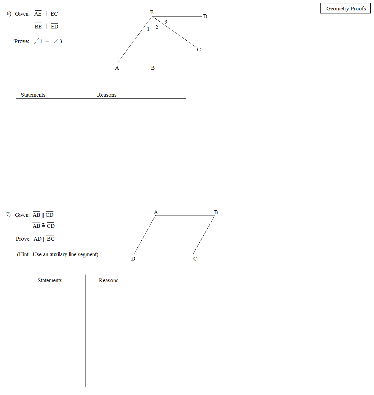 Line Segment Worksheet Addition