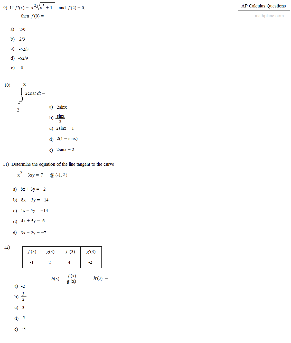 Solving Equations Worksheet Multiple Choice
