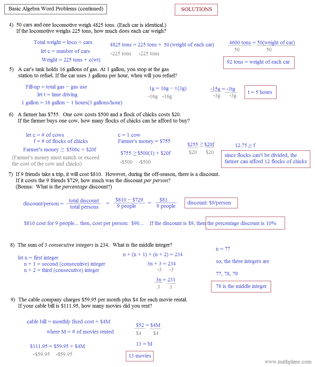 Exponential Growth Worksheet Answers