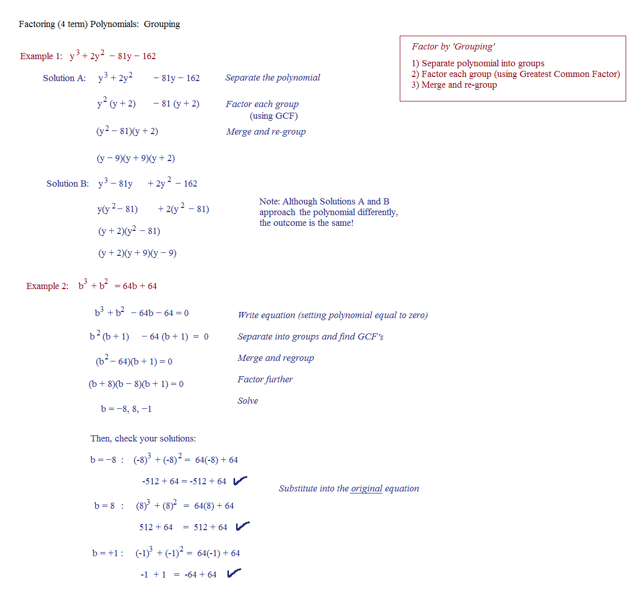 Printables Factoring Trinomials A 1 Worksheet Answers Happywheelsfreak Thousands Of Printable