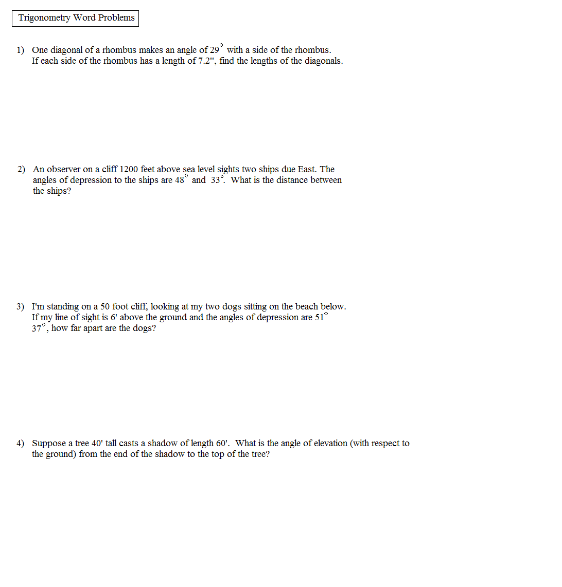 Percent Word Problems Worksheet With Answers