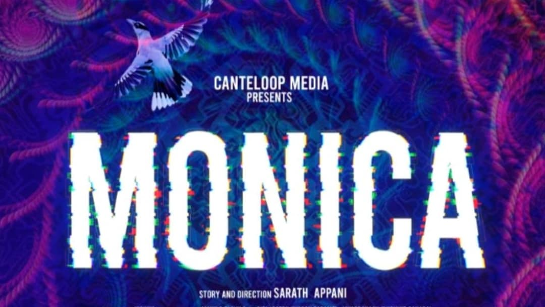 'Monica' written and directed by Appani Sarath;  The title poster has been released