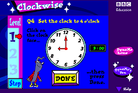 Time Games - Clockwise