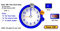 Time Games - Time Clock Game