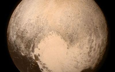 Pluto, at last