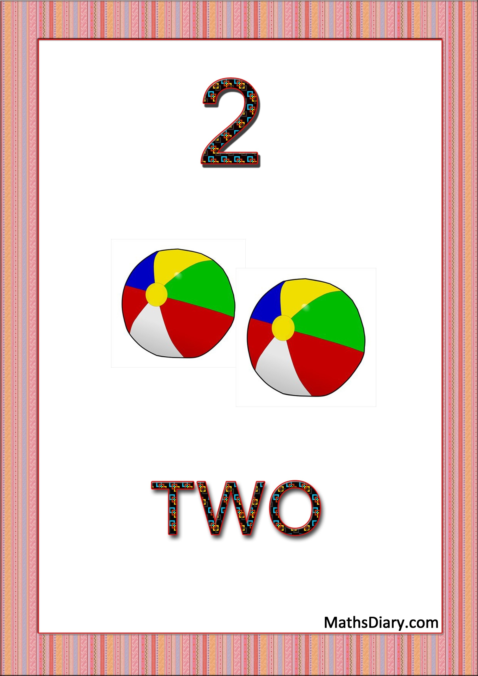Learning Counting And Recognition Of Number 2 Worksheets Level 1 Help Sheets Part 1