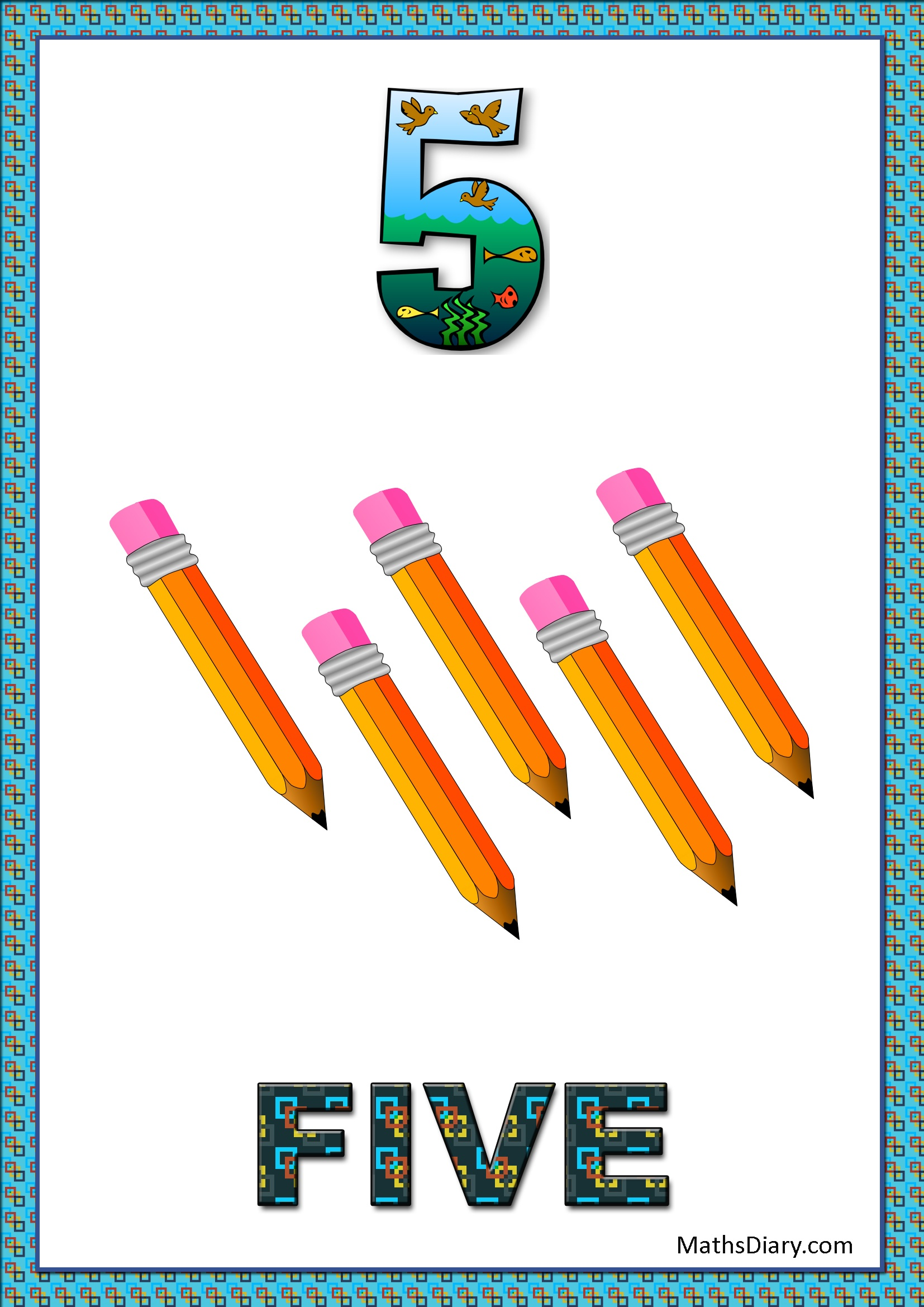Counting Of 5 Worksheets Level 1 Help Sheets Part