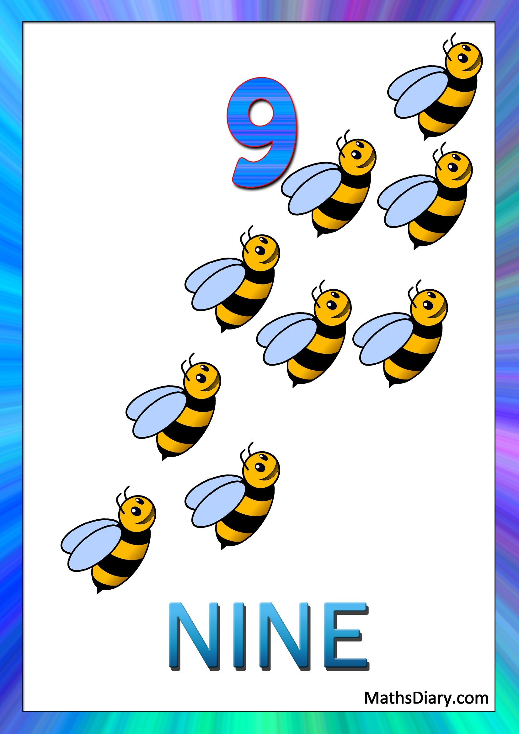 Recognition Of Numbers Nursery Math Worksheets