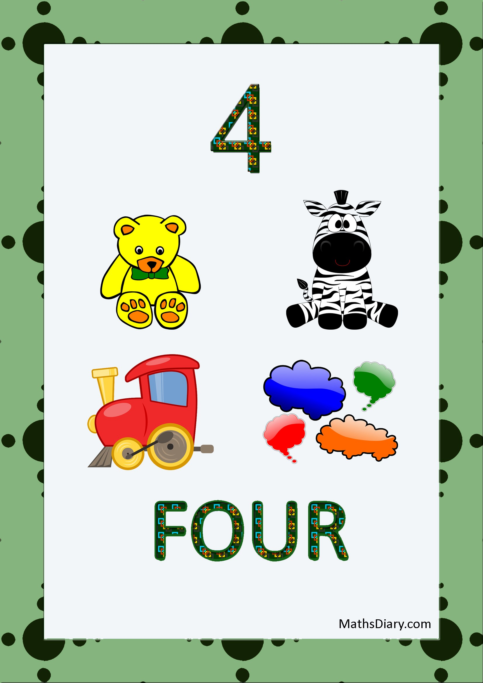 Recognition Of Numbers Ukg Math Worksheets
