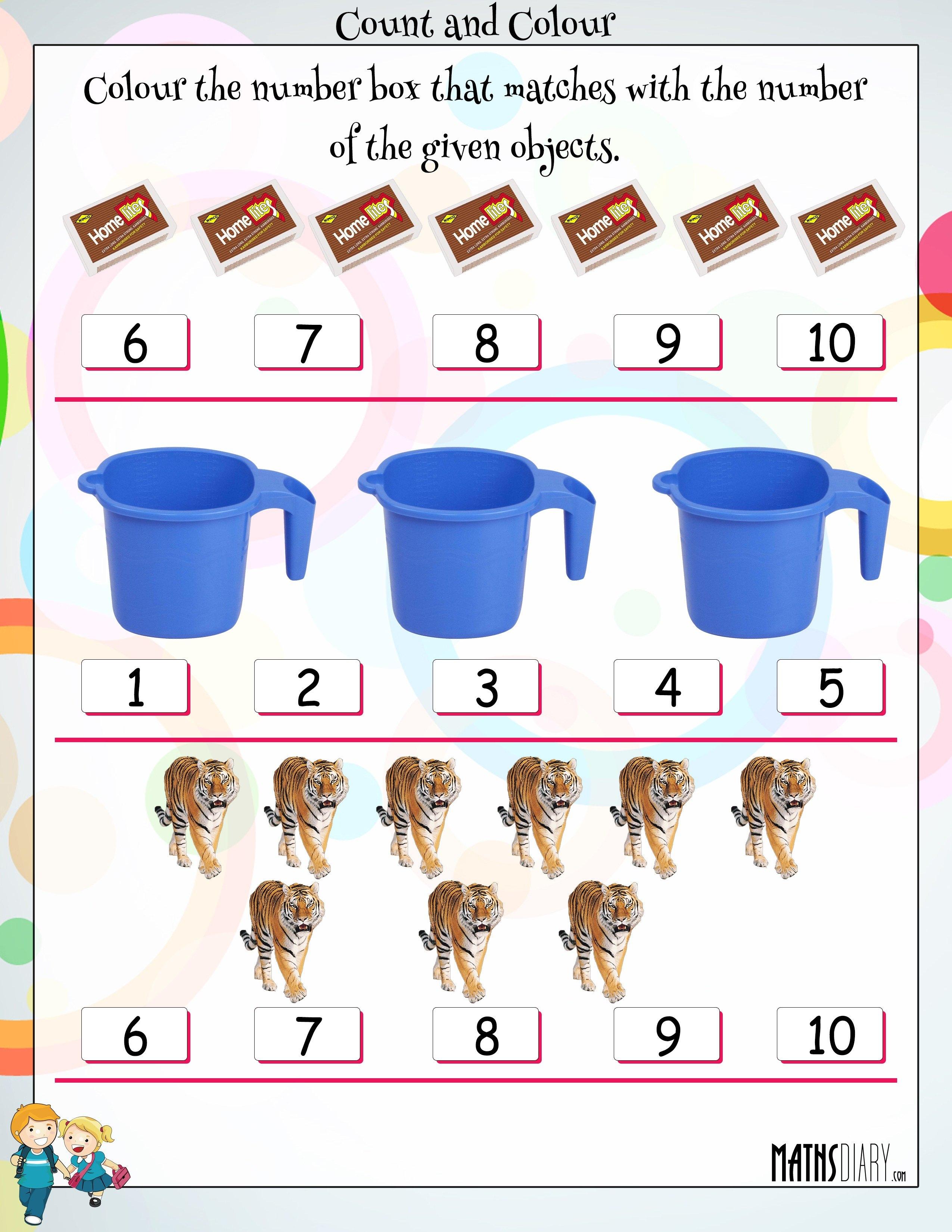 Lkg Math Worksheets