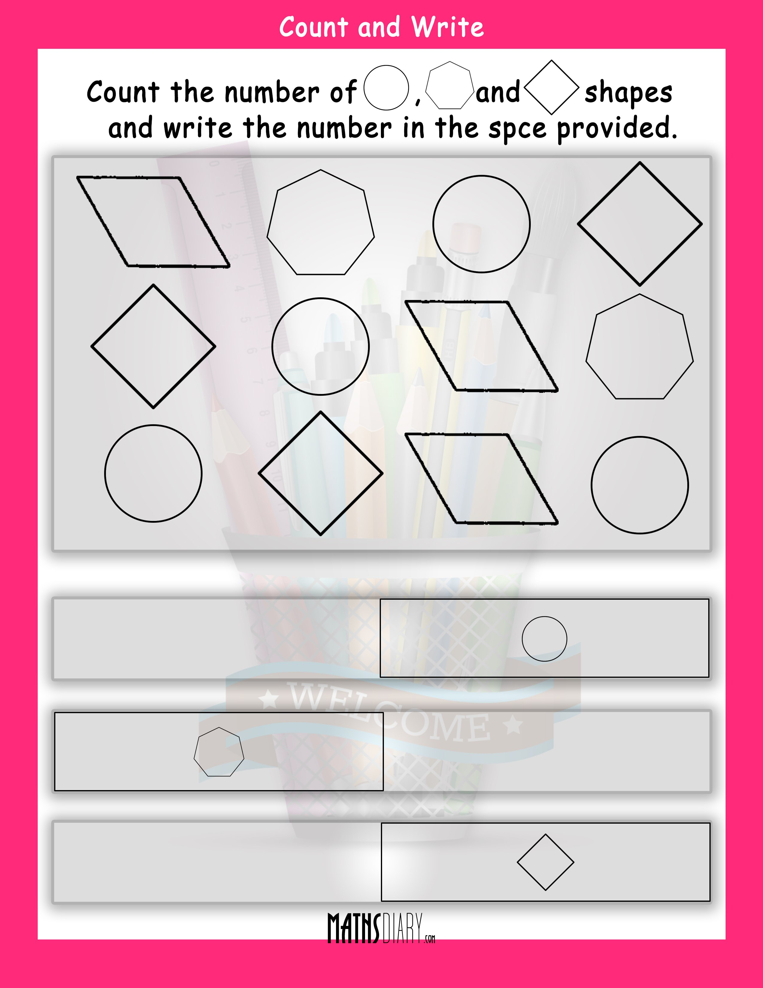 Count The Shapes