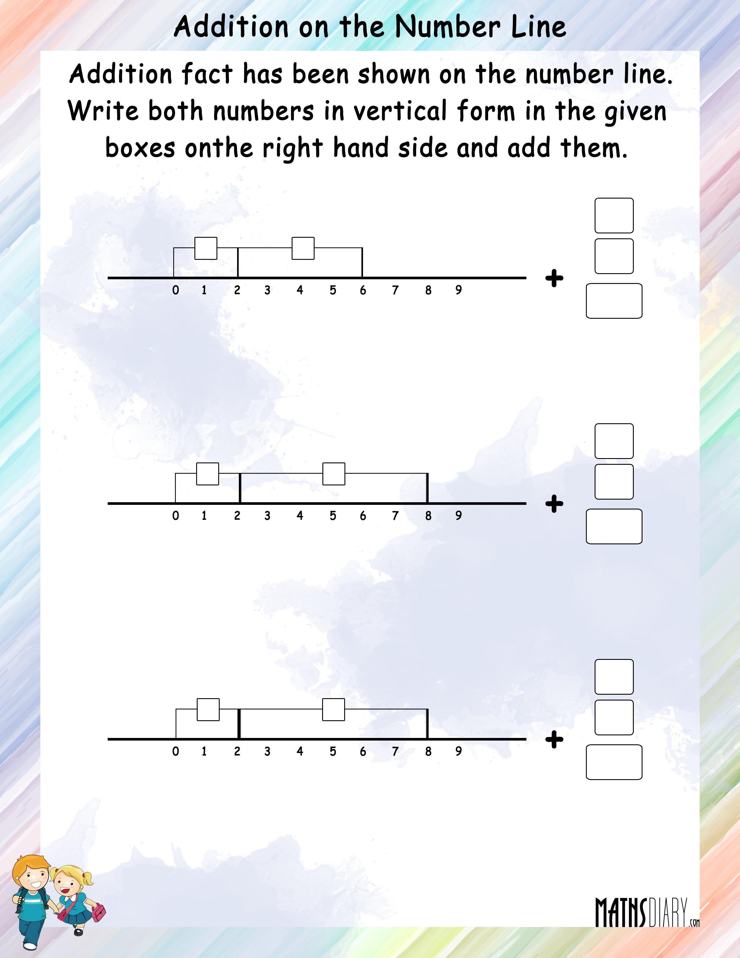 Addition Grade 2 Math Worksheets