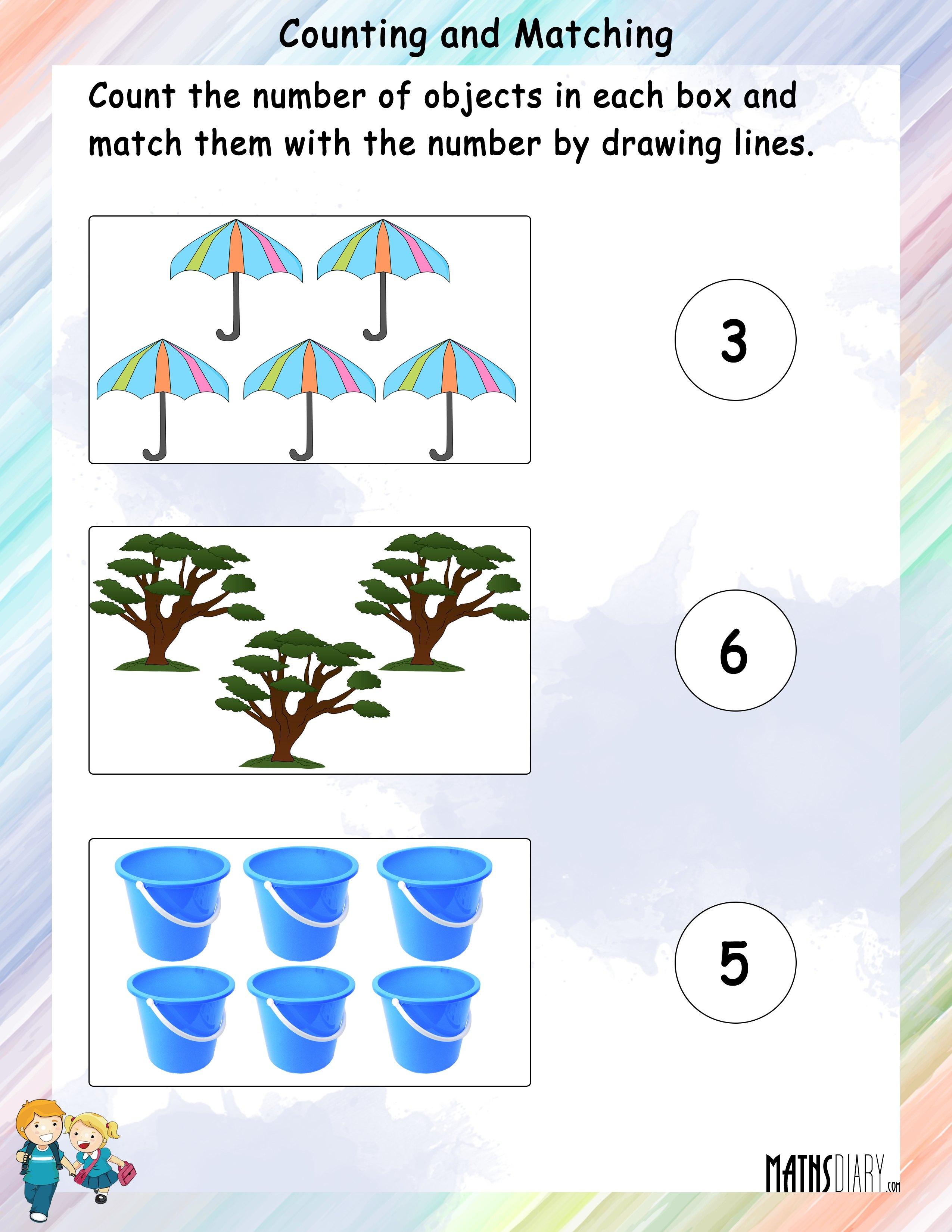 Grade 1 Math Worksheets
