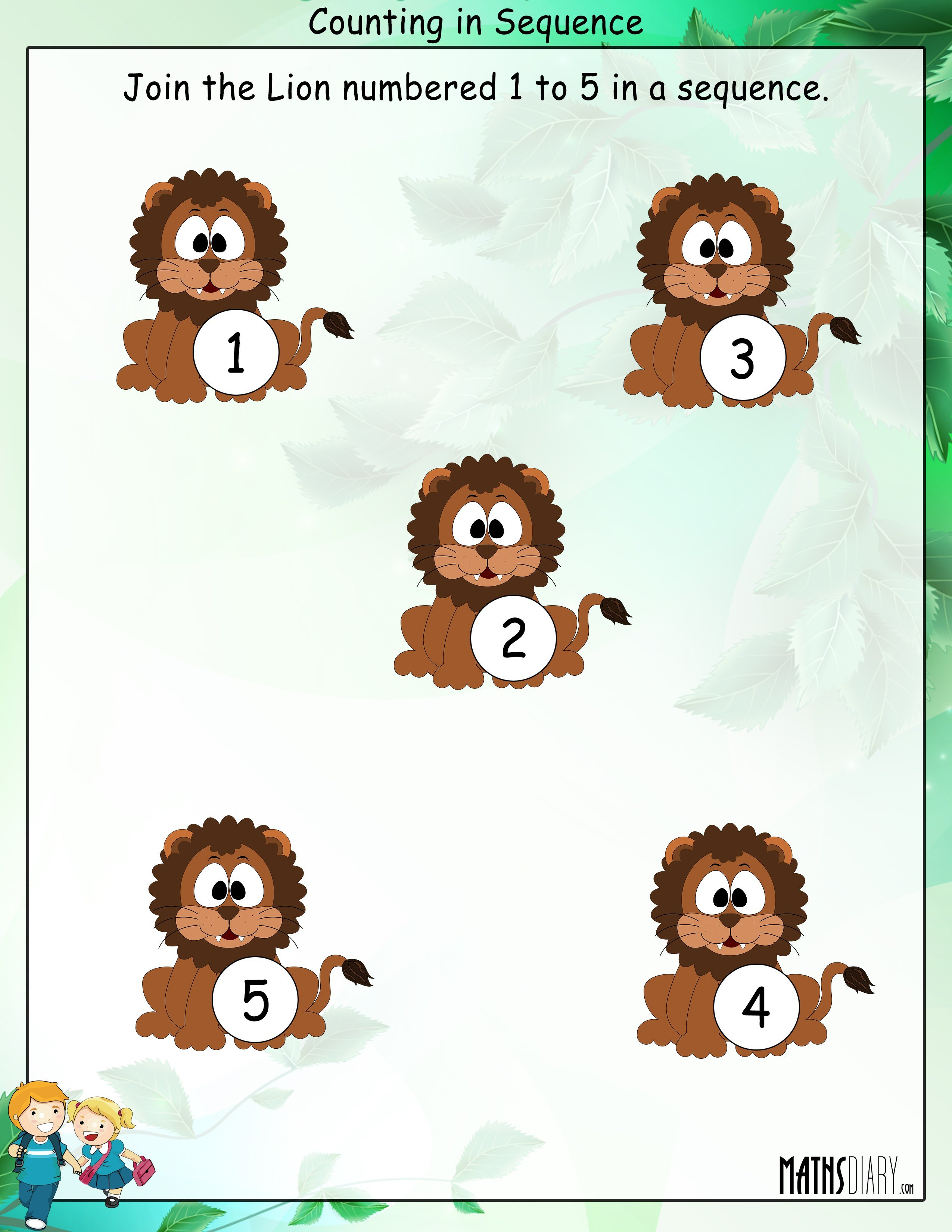 Patterns Grade 1 Math Worksheets