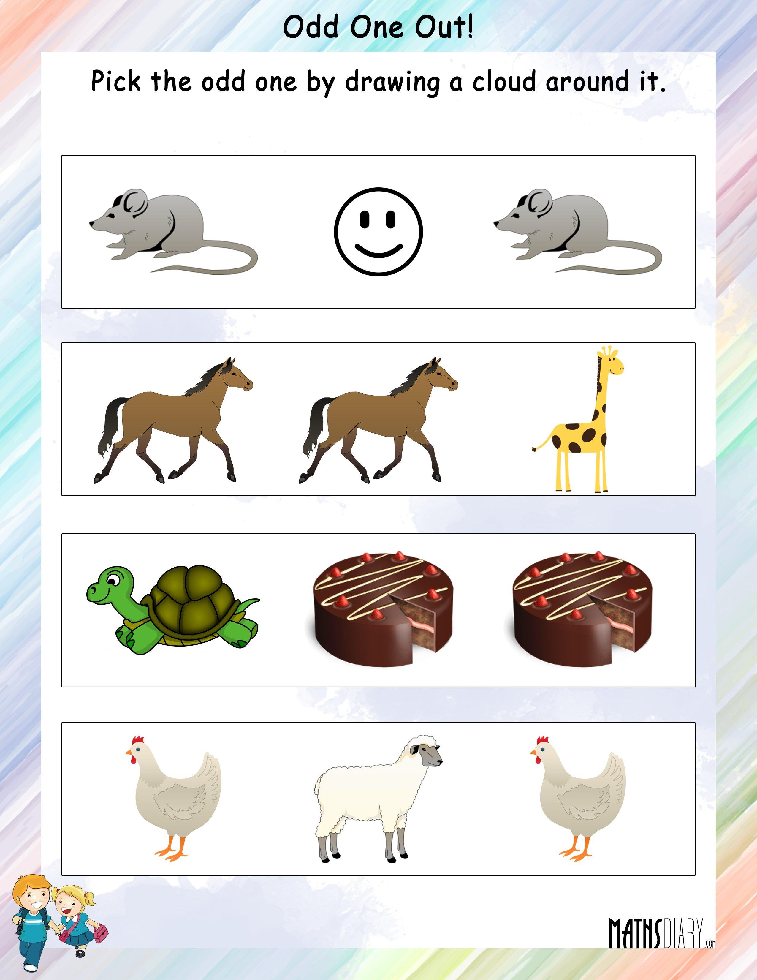 Mental Maths Ukg Math Worksheets