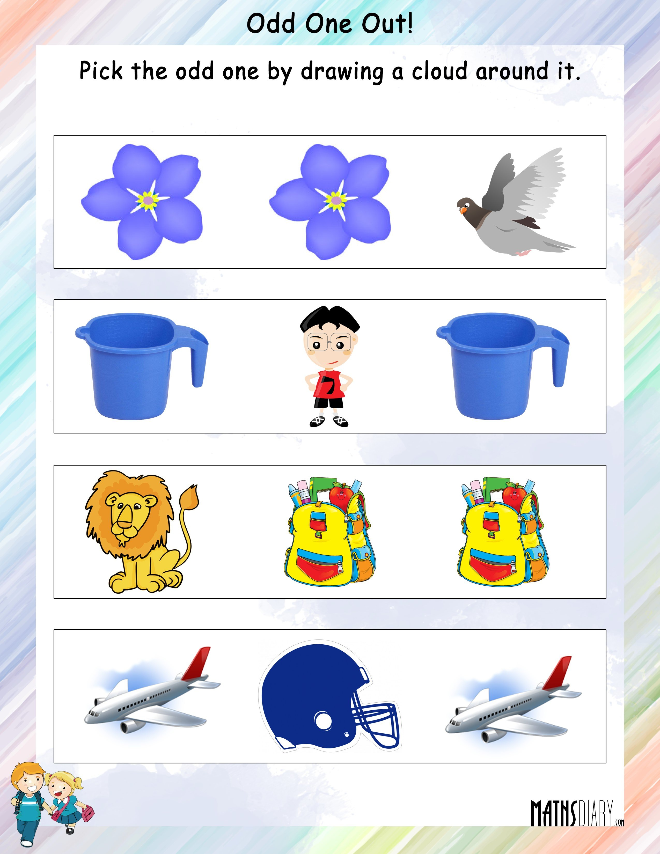 Mental Maths Grade 1 Math Worksheets