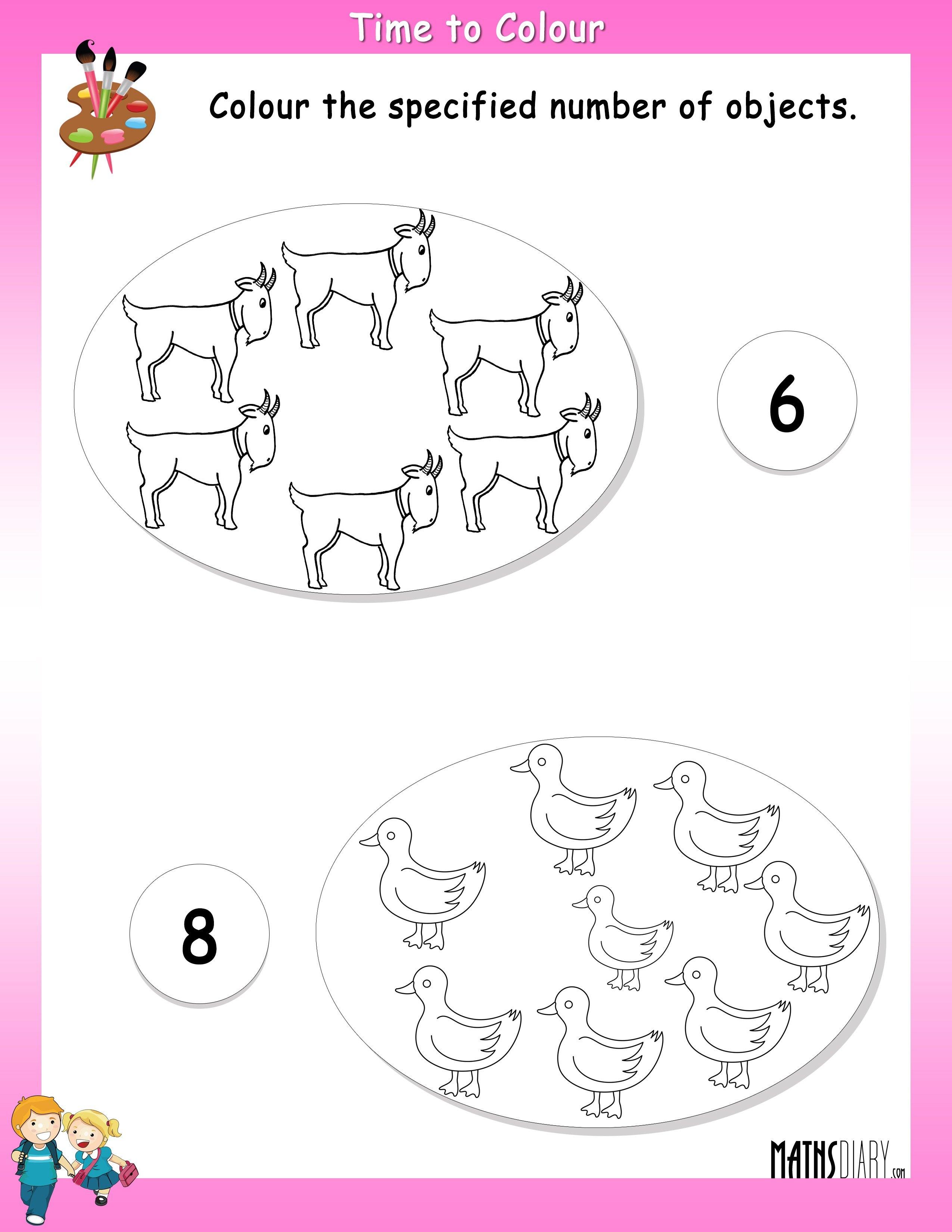 Drawing Worksheet For Lkg