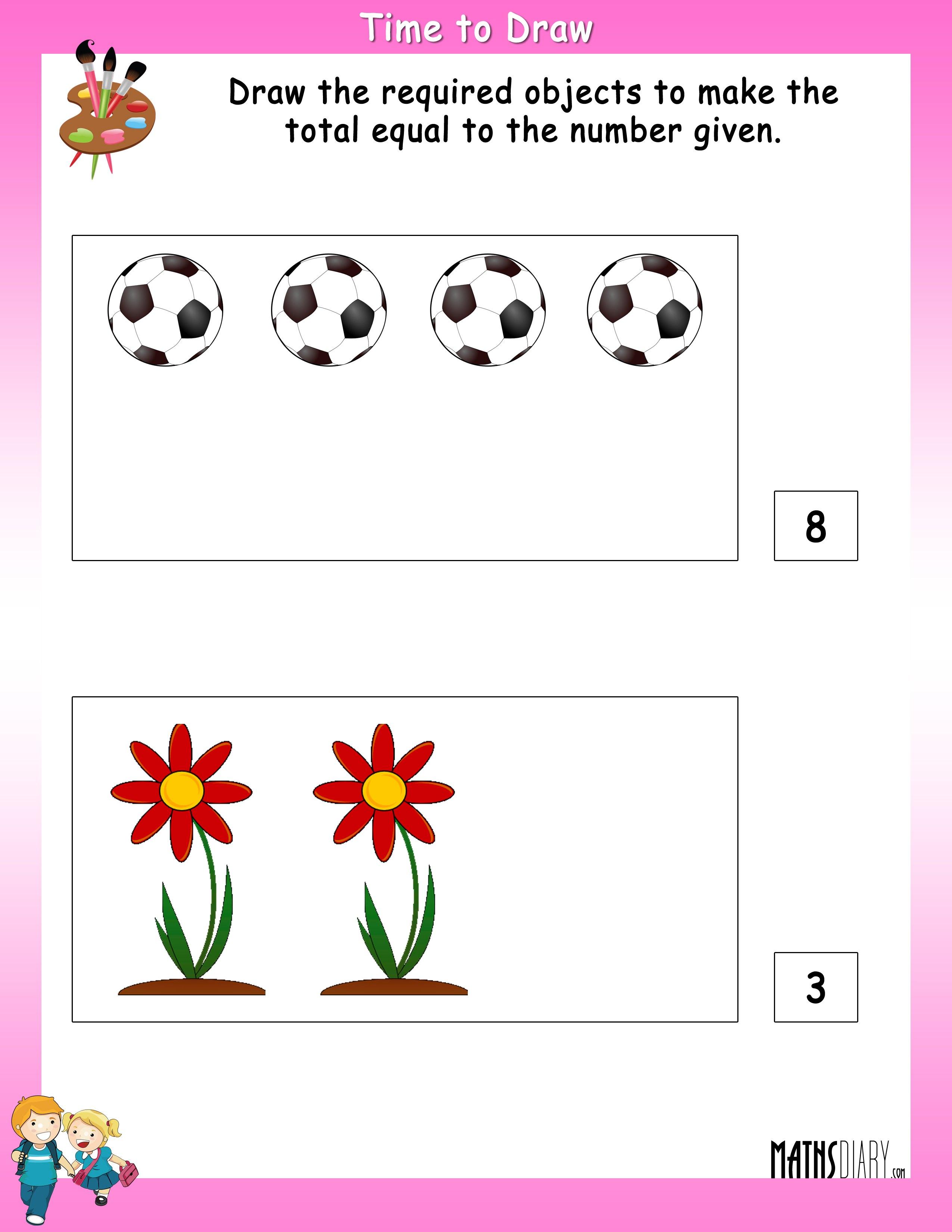Colouring Worksheets Ukg Math Worksheets