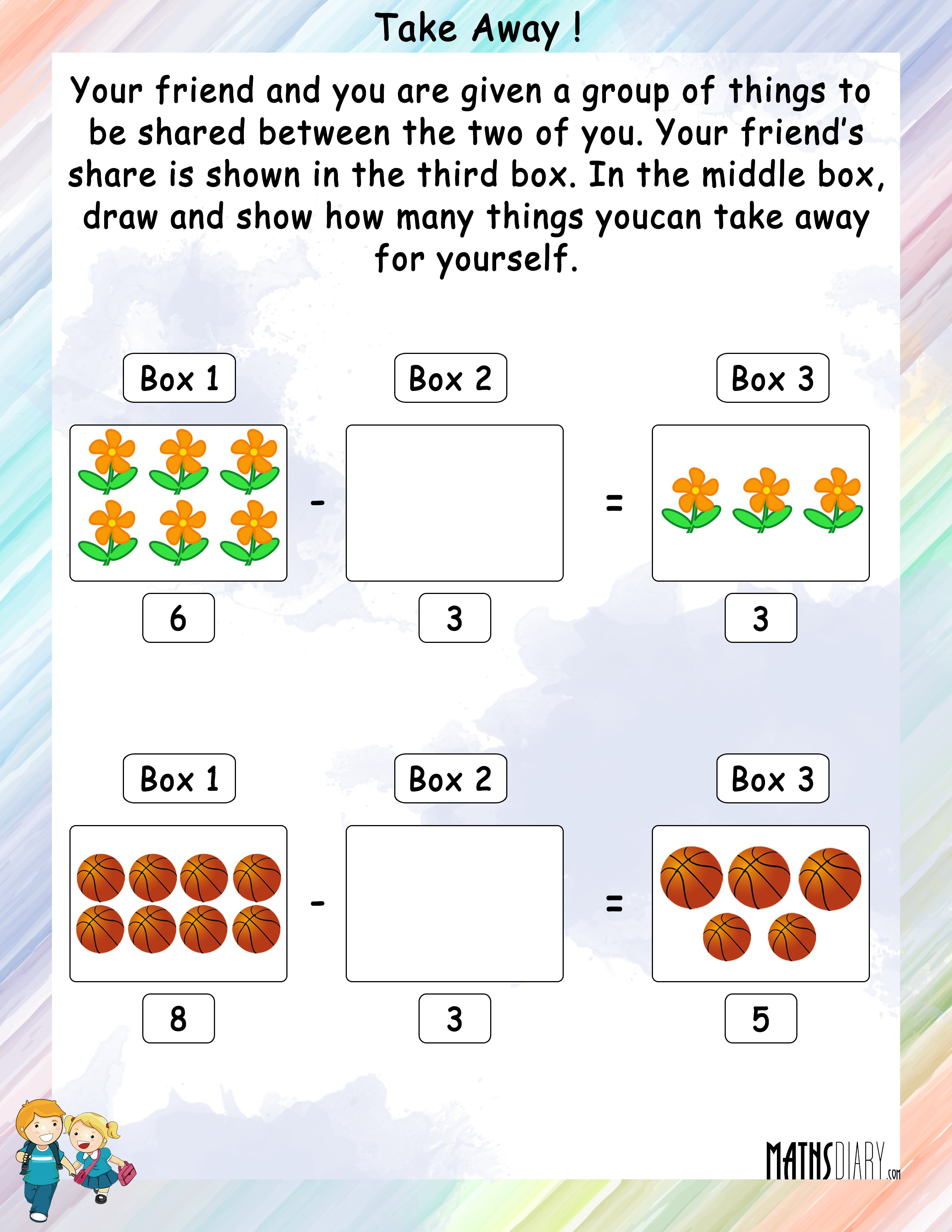 Grade 1 Math Worksheets