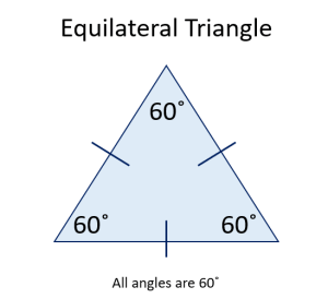 diagram of an equilateral triangle