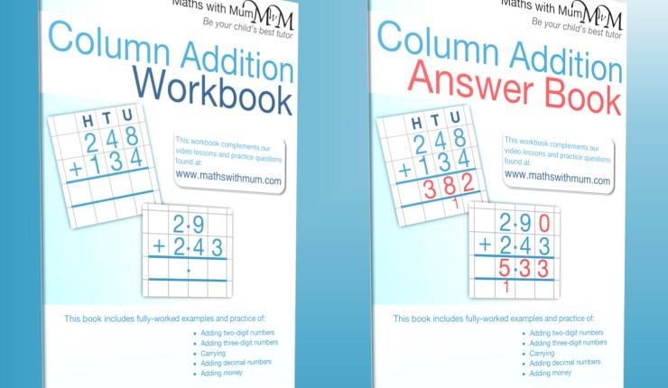 addition practice workbooks
