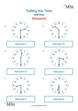 drawing hands on the clock face quarter past worksheet answers pdf
