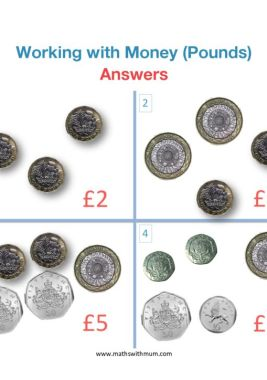 counting uk pound coins worksheet answers pdf