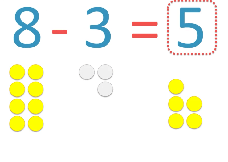 missing numbers in subtraction