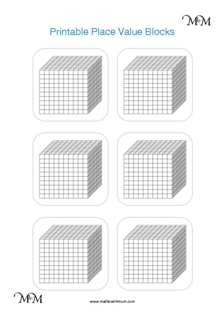 Place Value with Base Ten Blocks (MAB / Dienes Blocks