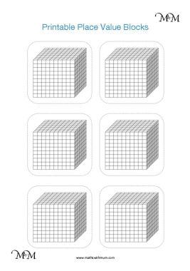 base ten dienes block representing numbers place value worksheet pdf HTO