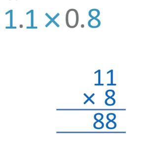 step 1 multiplying decimals