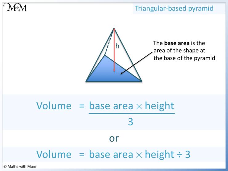 formula for the volume of a triangular pyramid
