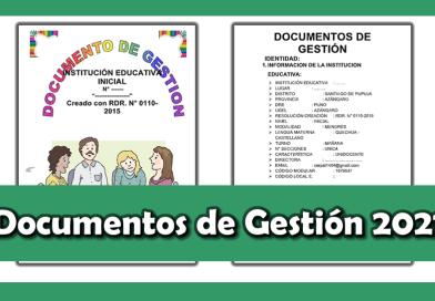 Material Completo sobre los Documentos de Gestión 2021