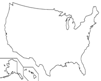 Additionally, tourists like to check out the claims because there are fascinating items to get in this brilliant nation. Blank Map Of The United States Worksheets