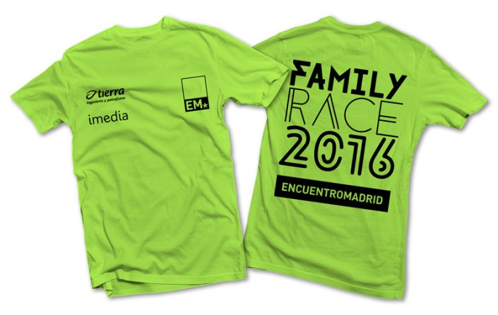 Camiseta Family Race