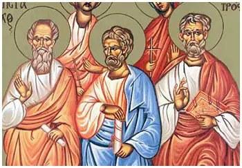 Άγιοι Πούδης, Αρίσταρχος και Τρόφιμος οι απόστολοι