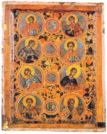 Άγιοι επτά Μακκαβαίοι, Σολομονή και Ελεάζαρος
