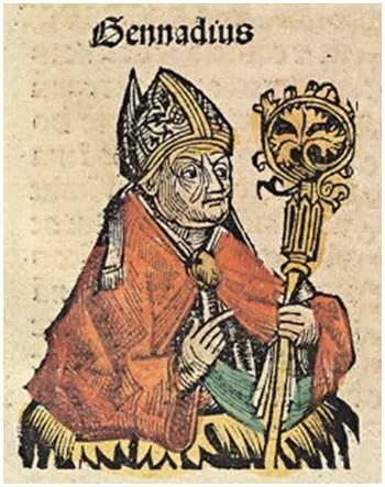 Άγιος Γεννάδιος Πατριάρχης Κωνσταντινουπόλεως