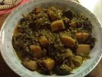 Σουπιές με σπανάκι
