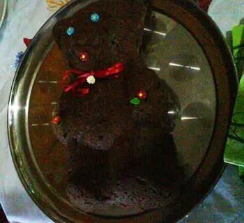Αρκουδάκι σοκολατόπιτα νηστίσιμη