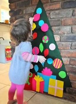 Χριστουγεννιάτικο δέντρο για πολύ μικρά παιδιά