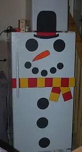 Ψυγείο χιονάνθρωπος