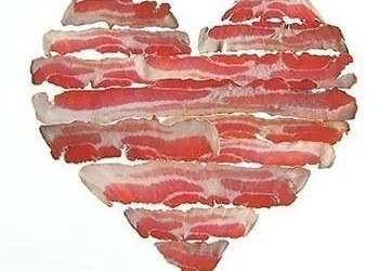 Καρδιά από μπέικον