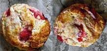 Μπισκότα φράουλας