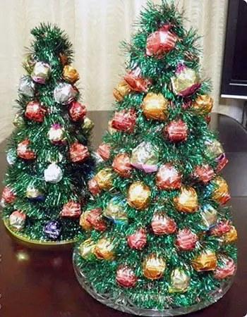 Πολύχρωμο Χριστουγεννιάτικο δέντρο
