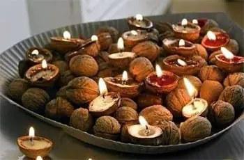 Γιορτινά ρομαντικά κεράκια
