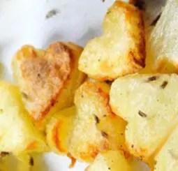 Πατάτες καρδιές